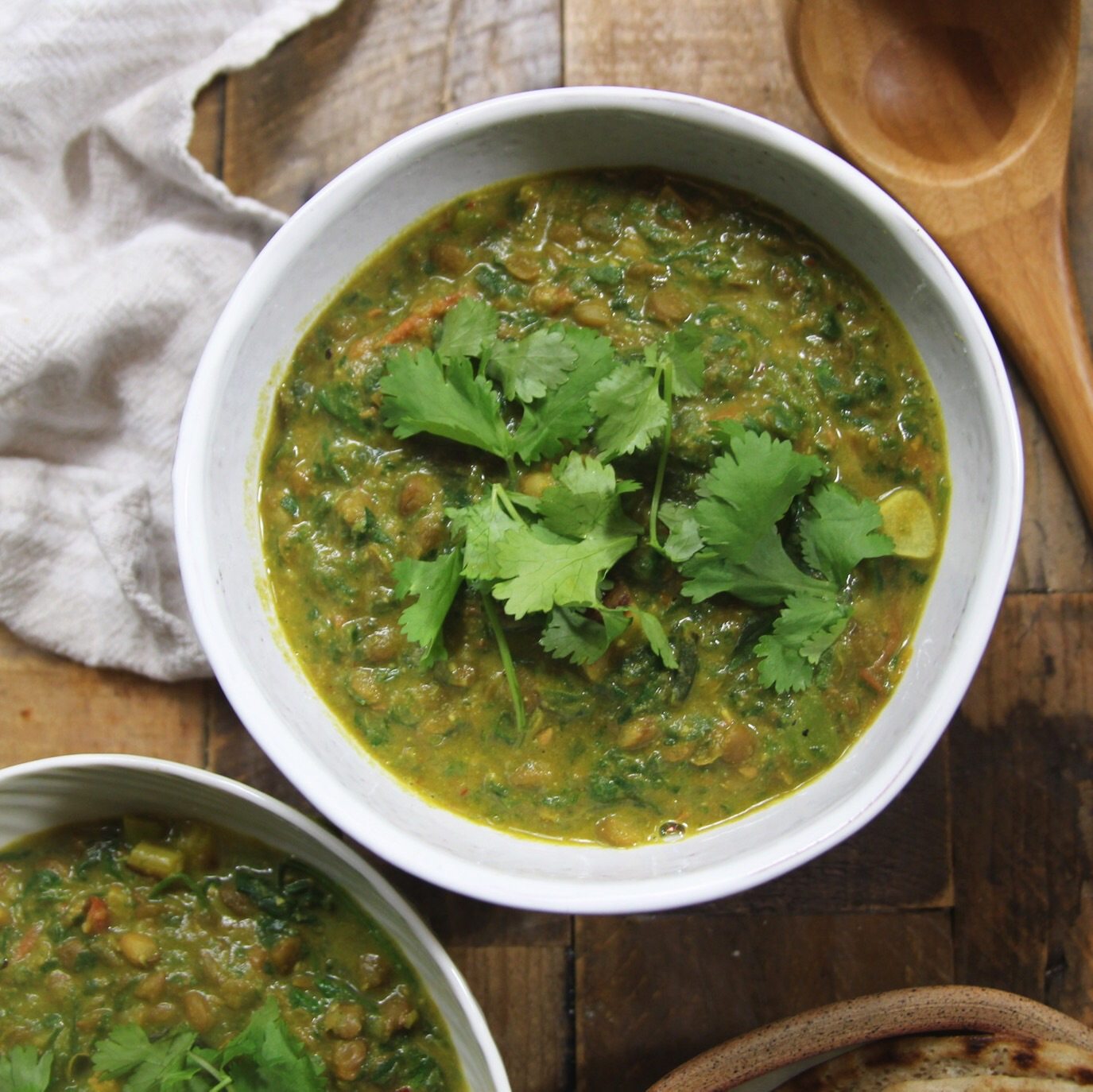 Spinachy dal