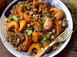 Pumpkin and quinoa