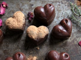 Vegan Choc hearts