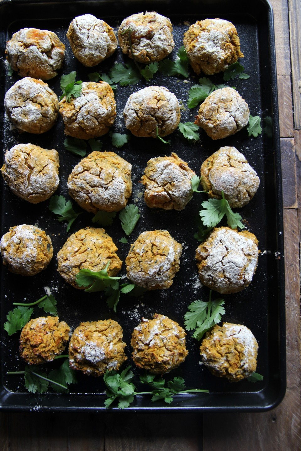 Sweet Potato falafals
