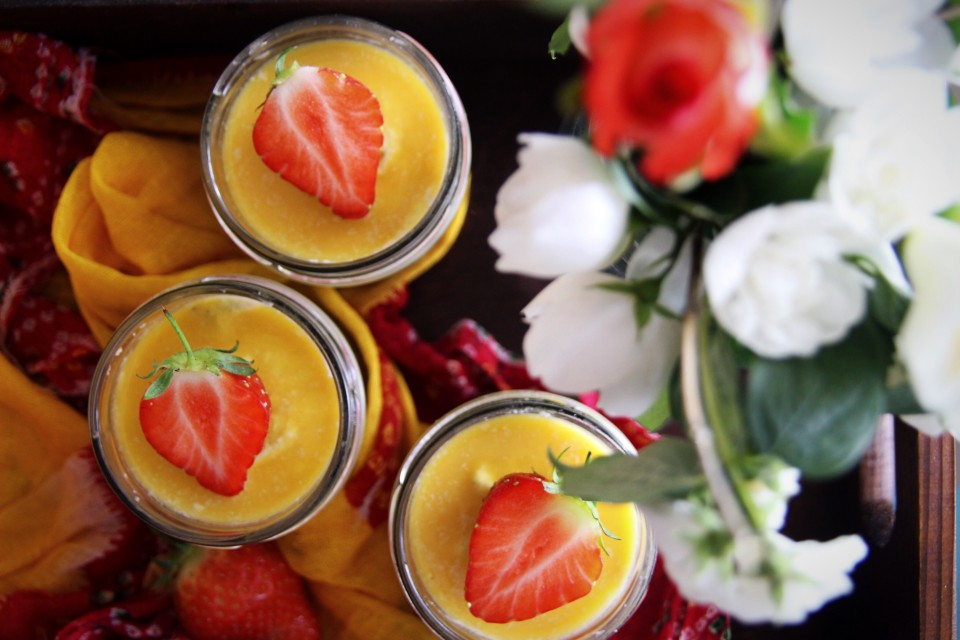Raw Passion Fruit Pots (Vegan & Gluten Free)