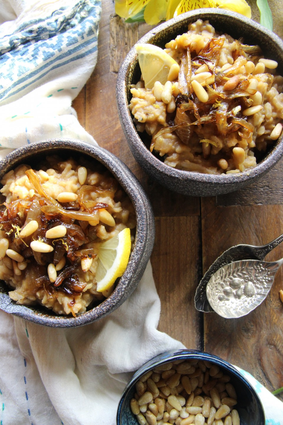Middle Eastern Rice and Lentils