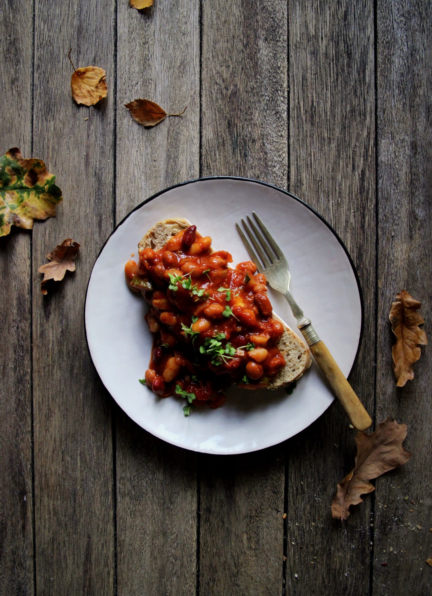 Easy Smoky Baked Beans